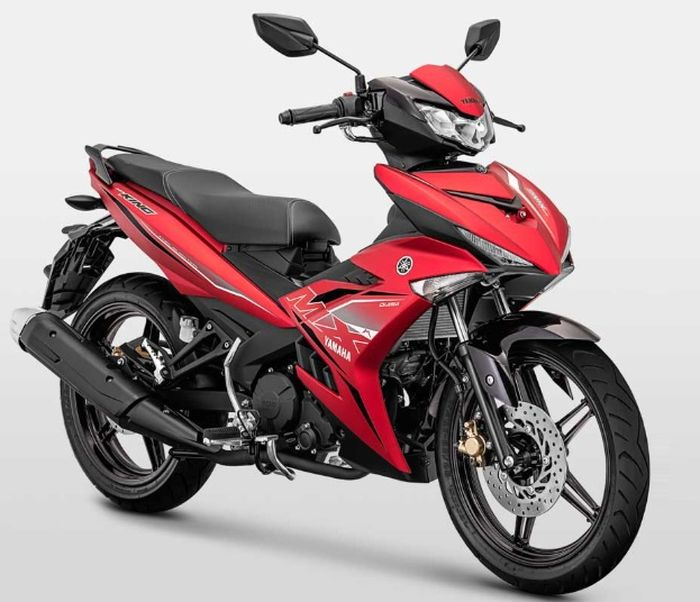 Pilihan warna merah Yamaha MX King 150 facelift