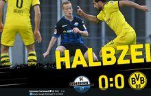 Babak I Bundesliga - Skor Kacamata Menghiasi Paruh Pertama Dortmund vs Paderborn