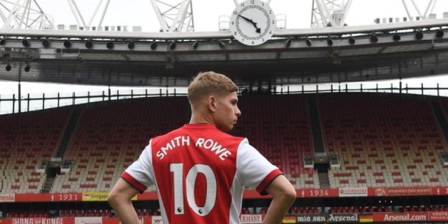 Perpanjang Kontrak dan Pakai Nomor Keramat Arsenal, Emile Smith Rowe Sah Jadi Penerus Mesut Oezil