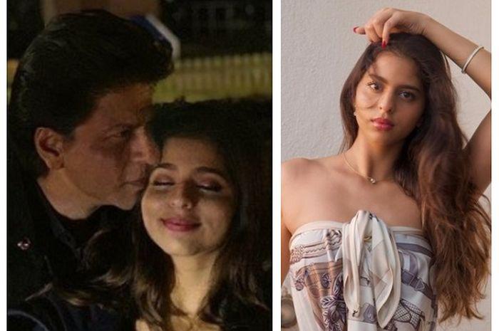 Shah Rukh Khan dan putrinya, Suhana Khan