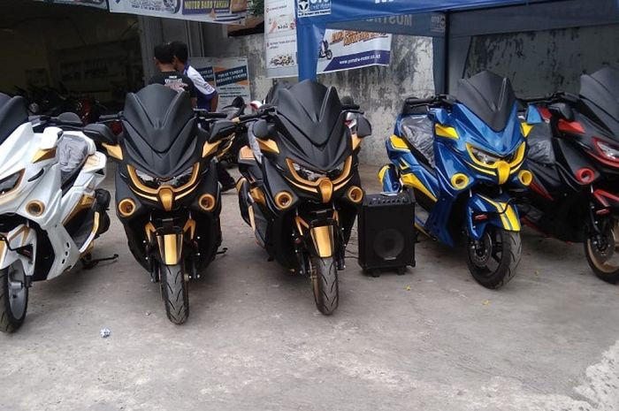 Motor Yamaha NMAX Predator.