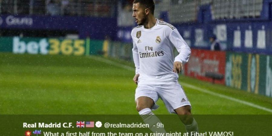 Masalah Terbesar Eden Hazard di Real Madrid: Dia Terlalu Baik