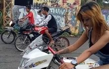 Jesika Amelia Pembalap Drag Yang Cedera Parah Dijuluki Joki Sexy