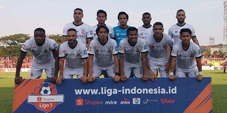 Pelatih Madura United Ajak Skuatnya Bangkit untuk Hadapi Tira Persikabo