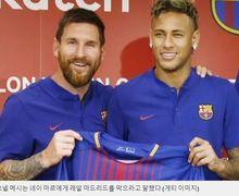 Gara-gara Neymar, Perang Antara Lionel Messi dan Antoine Griezmann Dilaporkan Terjadi di Ruang Ganti