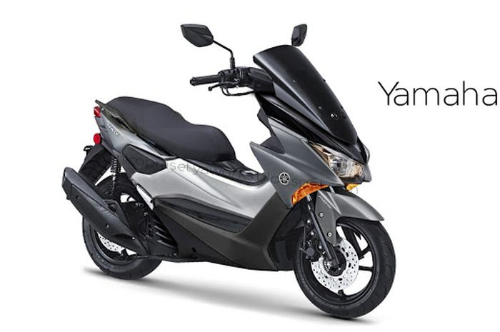 Ilustrasi rendering Yamaha NMAX terbaru