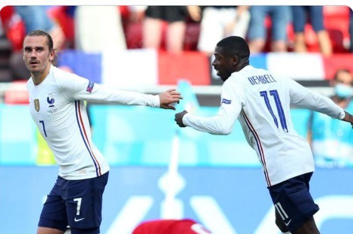 Gol dari Antoine Griezmann selamatkan muka timnas Prancis, timnas Hungaria sukses menahan imbang Les Bleus.