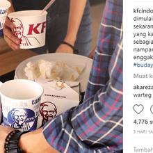 KFC Kampanye Budaya Beberes Sendiri Usai Makan, Warganet : Udah Bayar Mahal, Kita Juga Dibikin Repot!