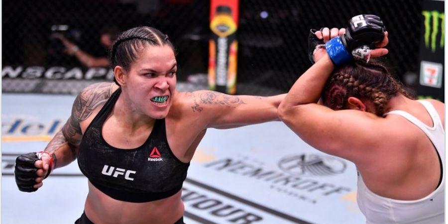 Dari Gebuk-gebukan di Arena Perempuan UFC, Amanda Nunes Keruk Rp45 Miliar