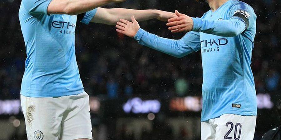 Starting XI Man City Vs Everton adalah Bernardo Silva dan 10 Rekannya
