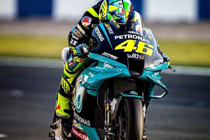 Tampil buruk di tes pramusim MotoGP Qatar 2021, begini keluhan Valentino Rossi