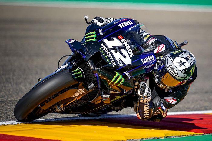 Pembalap Monster Energy Yamaha, Maverick Vinales, mendapat 2 kemalangan pada MotoGP Eropa 2020.