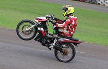 Meski  Jadul,  Motor Yamaha MX135 2007 Ini Ngacak Ngacak  Sentul