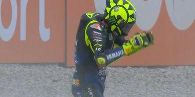 Hasil MotoGP Catalunya 2020 - Mimpi Buruk Valentino Rossi Masih Berlanjut