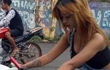 Pembalap Drag Bike Jesika Amelia Dijuluki Joki Seksi, Ini Alasannya