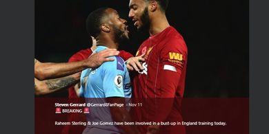 Perseteruan Vs Gomez Tak Hanya Salah Sterling, tetapi Juga Fan Liverpool?