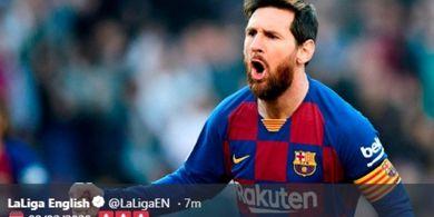 Napoli vs Barcelona - Peluang Lionel Messi Dekati Rekor Pele