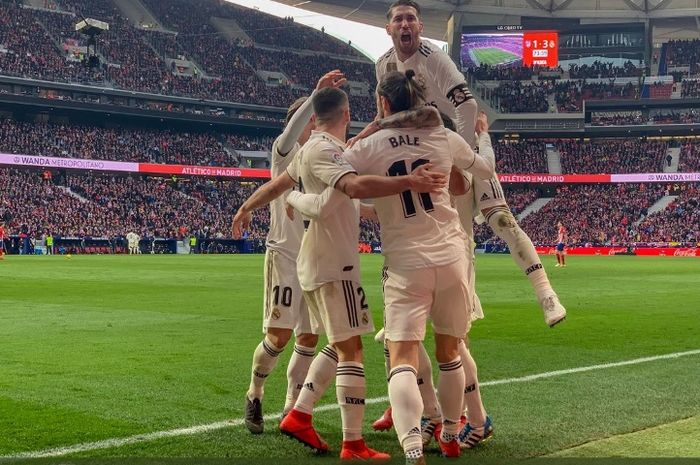 Real Madrid bangkit, Barcelona mengaku tidak khawatir