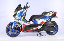 Customaxi Bandung Diinvasi XMAX Berkostum Gundam, Kakinya Kekar Sob!