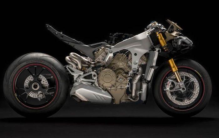 Mesin Ducati Panigale V4 mirip MotoGP