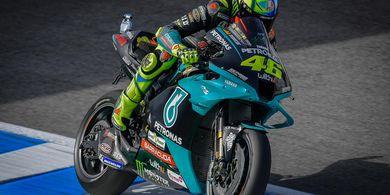 Motor Tak Sebagus Tim Pabrikan jadi Penyebab Nestapa Valentino Rossi di MotoGP 2021