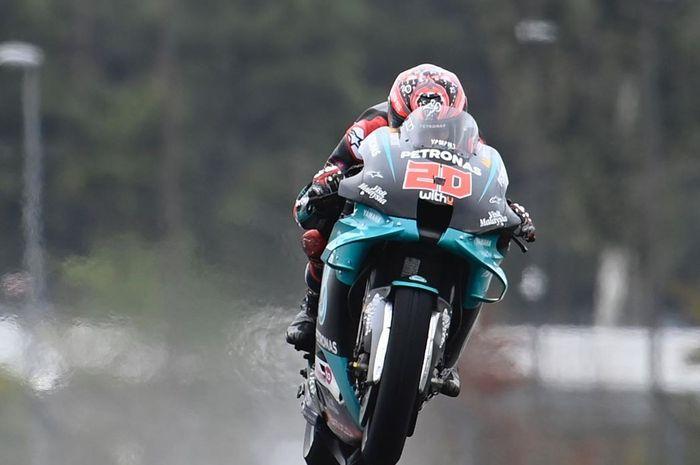 Fabio Quartararo gagal meraih kemenangan pada balapam MotoGP Prancis 2020