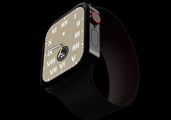 Desain Konsep Apple Watch Series 7 Muncul, Pakai Tepi Datar