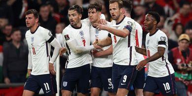 Inggris Ditahan Hungaria 1-1, Penonton Tim Tamu Bentrok dengan Polisi