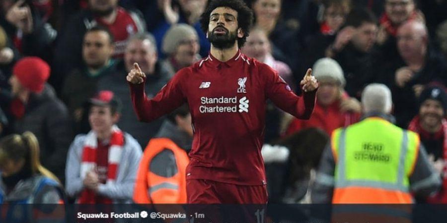 Daftar Top Scorer Sementara Liga Inggris, Posisi Mohamed Salah Tergeser