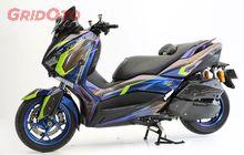 Ini Dia Yamaha XMAX Dengan Laburan Grafis Keren di Makassar