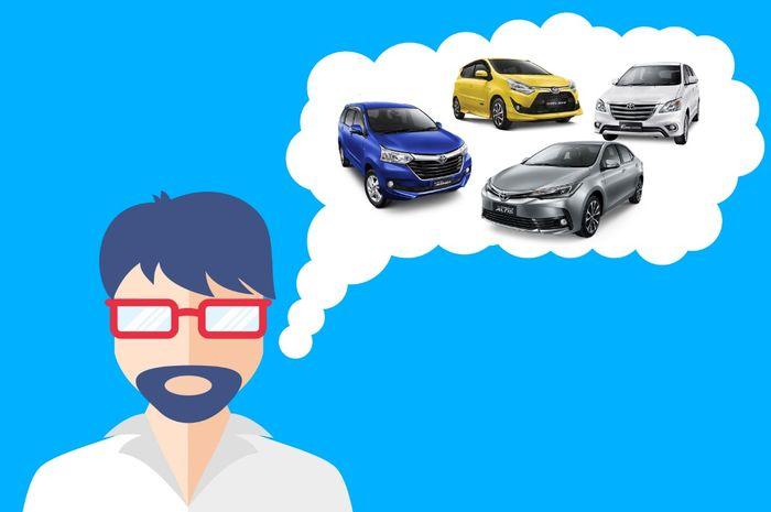 Pilihan mobil Toyota di kisaran harga Rp 80 juta