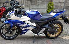 Yamaha R15 Raib, Niat Maling Uang, Liat Kunci Nyantol Ikut Digasak