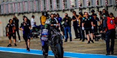 Posisi Maverick Vinales di Monster Energy Yamaha MotoGP Terancam?