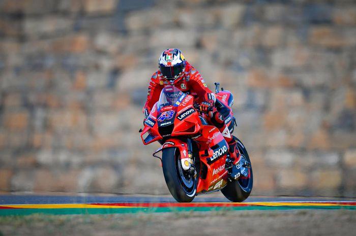 Pembalap MotoGP dari tim Ducati Lenovo, Jack Miller.