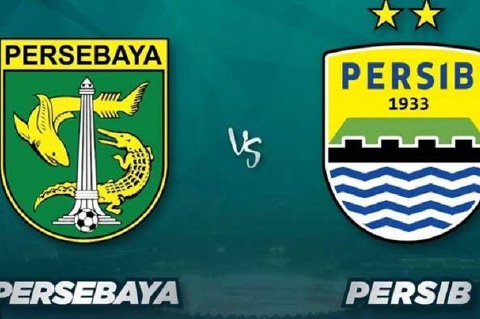 Persebaya Surabaya versus Persib Bandung.