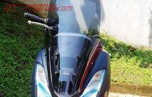 Yamaha Lexi Udah Ada Windshield-nya, Dijual Rp 600 Ribu