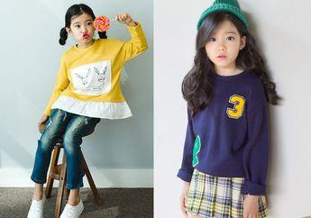 Inilah Gaya Berbusana Anak Perempuan Tercantik dari Korea, Lucu deh