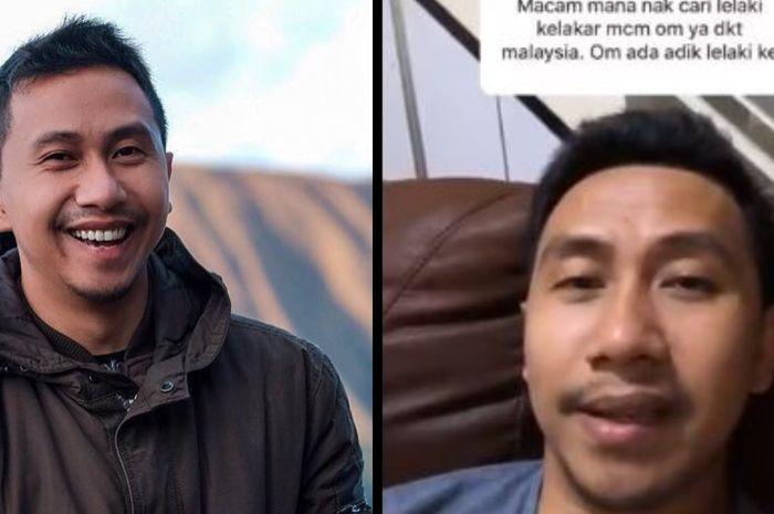 Raden Rauf selebgram yang sedang viral hingga Malaysia.