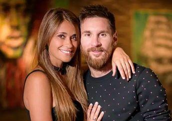 Temani Lionel Messi ke Satu Acara, Antonella Roccuzzo Gunakan Outfit Bernilai 70 Juta Lebih