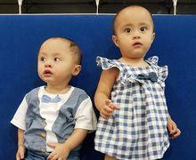 Gaya  Anak Laki-laki Cynthia Lamusu Saat Mulai Berjalan Sendiri