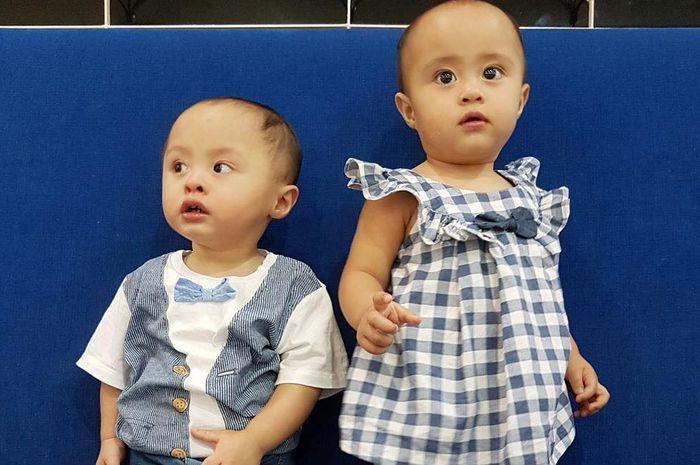 Anak kembar dari pasangan Cynthia-Surya yakni Tatjana dan Bima