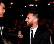 Begini Perayaan Hari Ibu Versi Mega Bintang Cristiano Ronaldo dan Lionel Messi!
