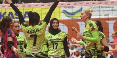 Final Four Proliga 2019 - Kalahkan BNI, Popsivo Segel Tiket Final