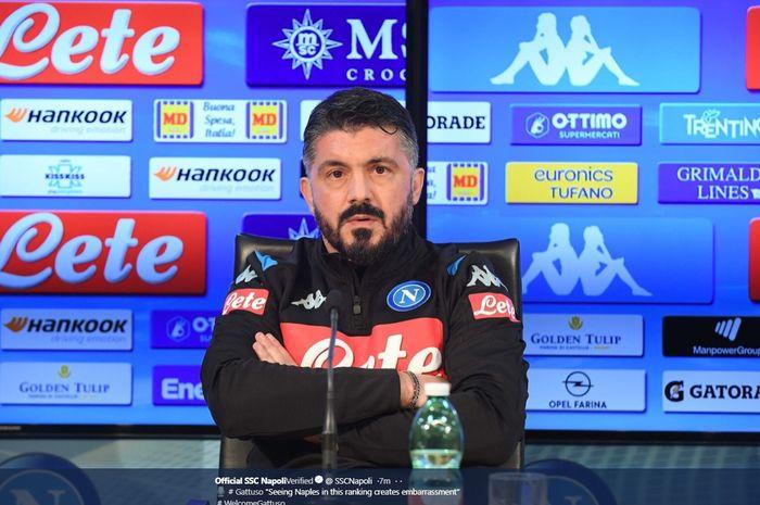 Napoli secara resmi menunjuk Gennaro Gattuso sebagai pelatih kepala pada Rabu (11/12/2019) atau Kamis dini hari WIB.