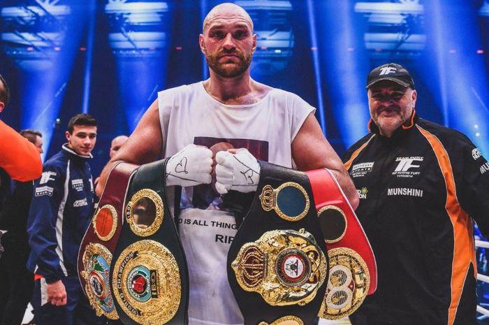 Image result for Tyson Fury Rebutkan Sabuk WBC