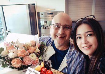 Wow! Irwan Mussry Berikan Kado Ulang Tahun Mewah Bertabur Berlian 18 Karat untuk Maia Estianty
