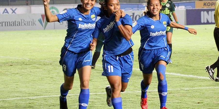 3 Pencetak Gol Terbanyak Pesepakbola Cantik di Liga 1 Putri 2019, Ada Pilar Persib