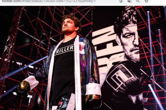 Ben Askren, mantan petarung MMA yang sempat disebut-sebut mampu kalahkan eks jagoan UFC, Khabib Nurmagomedov.