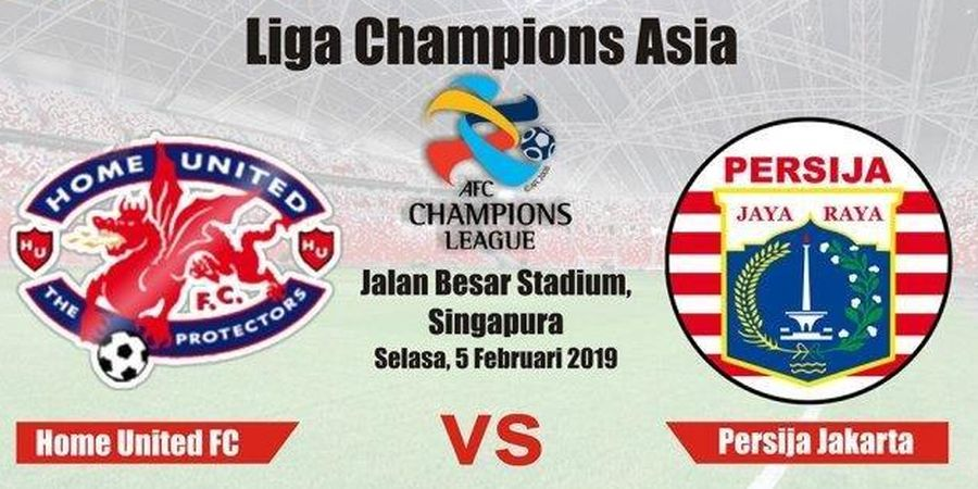 Link Live Streaming Persija Vs Home United di Liga Champions Asia 2019