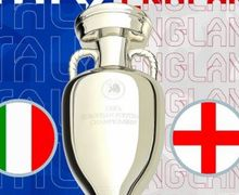 Live Streaming Final Euro 2020 - Italia Vs Inggris, Gini Cara Nontonnya!